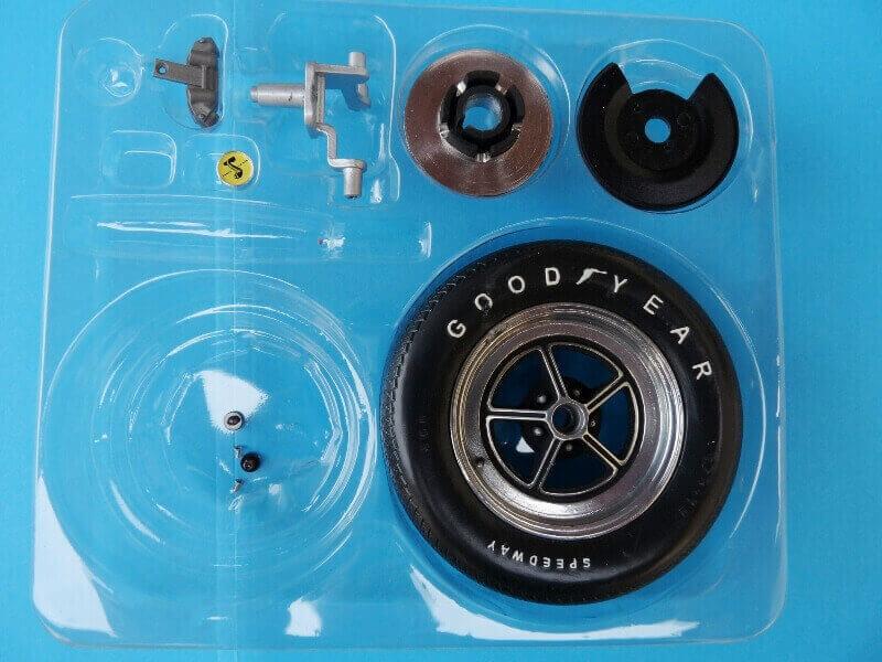 Shelby GT500 - 1967 - 1/8ème - Kit métal - Fascicules Altaya She00018