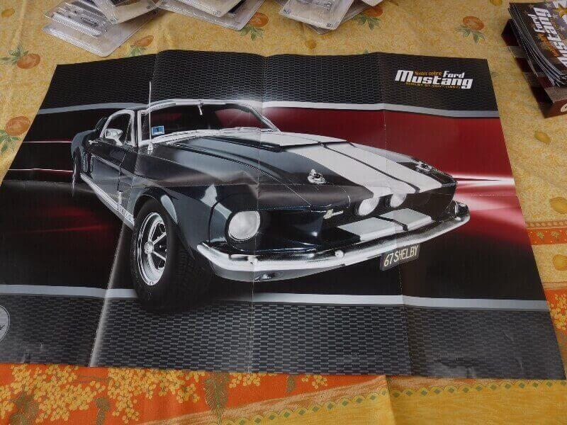 Shelby GT500 - 1967 - 1/8ème - Kit métal - Fascicules Altaya She_110
