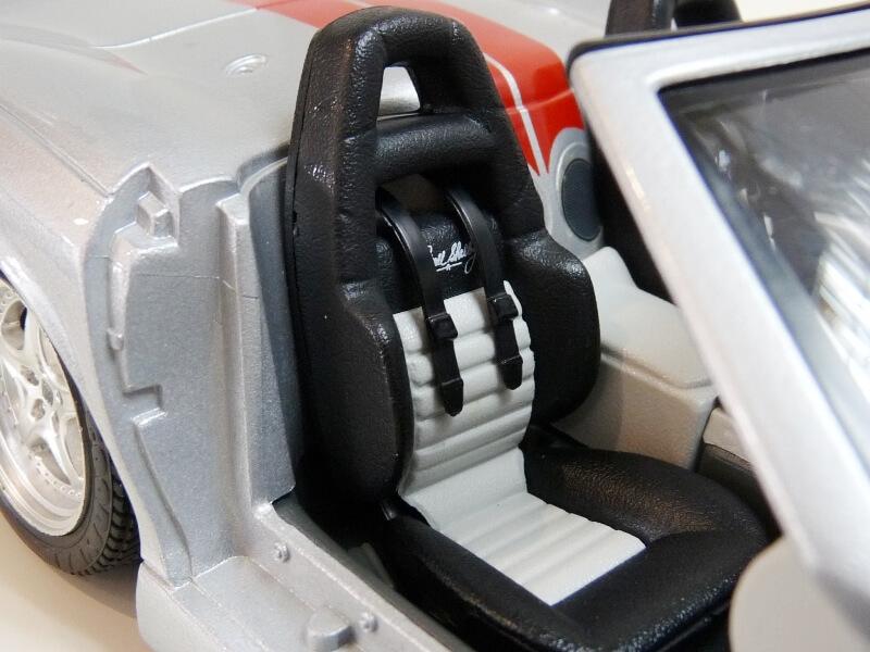 Shelby Série I - 1999 - BBurago 1/18 ème Shelby63