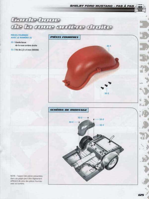 Shelby GT500 - 1967 - 1/8ème - Kit métal - Fascicules Altaya - Page 3 Shf_1018