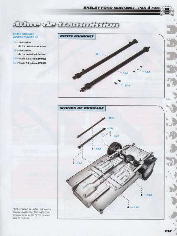Shelby GT500 - 1967 - 1/8ème - Kit métal - Fascicules Altaya - Page 3 Shf_1214
