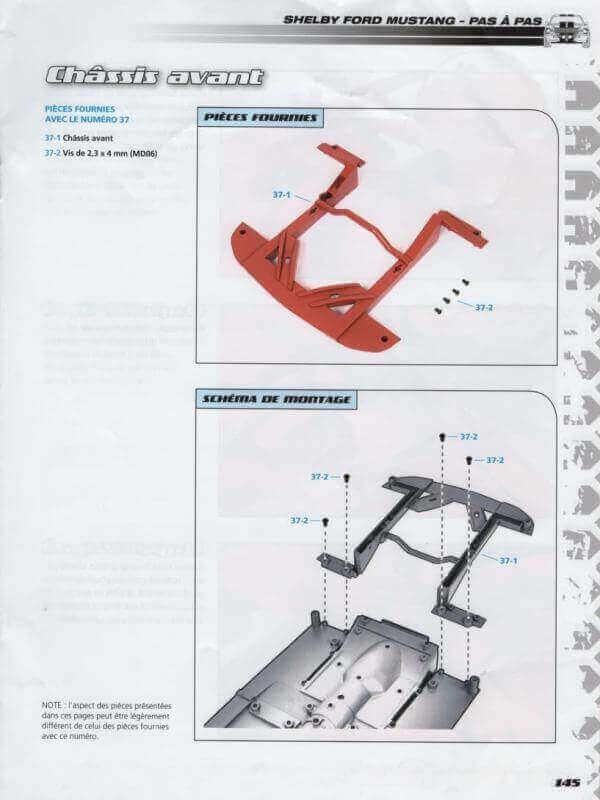 Shelby GT500 - 1967 - 1/8ème - Kit métal - Fascicules Altaya - Page 3 Shf_1411
