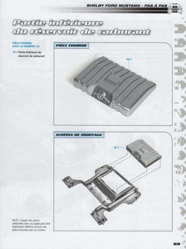 Shelby GT500 - 1967 - 1/8ème - Kit métal - Fascicules Altaya - Page 2 Shf_3510