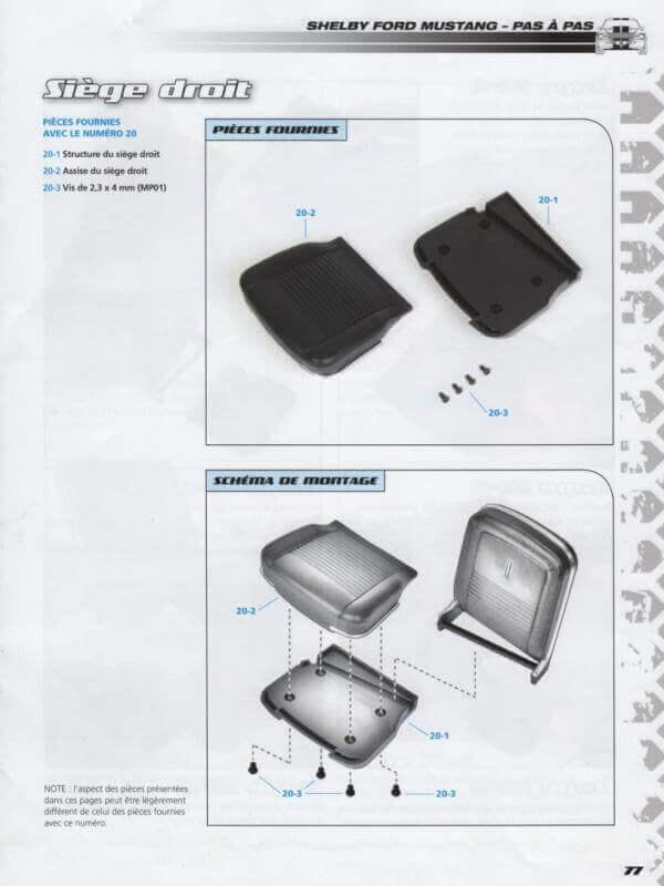 Shelby GT500 - 1967 - 1/8ème - Kit métal - Fascicules Altaya - Page 2 Shf_4610