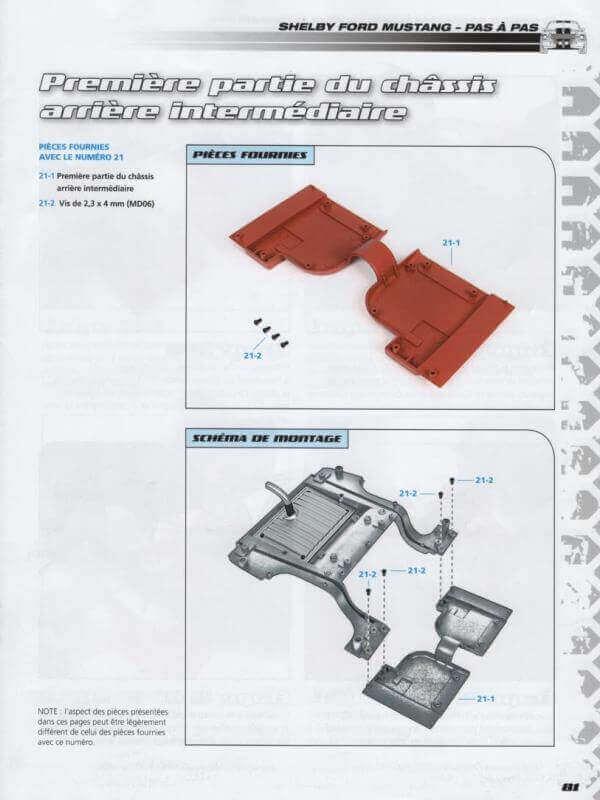 Shelby GT500 - 1967 - 1/8ème - Kit métal - Fascicules Altaya - Page 2 Shf_5110