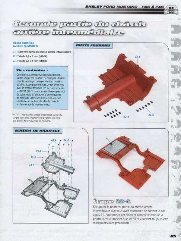 Shelby GT500 - 1967 - 1/8ème - Kit métal - Fascicules Altaya - Page 2 Shf_5710