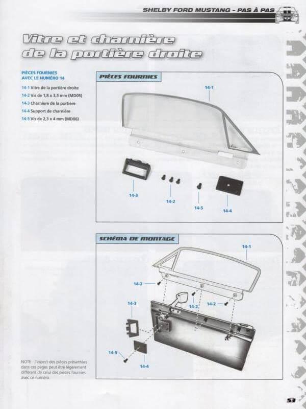 Shelby GT500 - 1967 - 1/8ème - Kit métal - Fascicules Altaya - Page 2 Shf_610