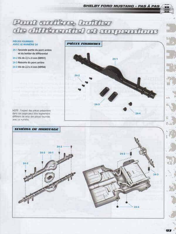 Shelby GT500 - 1967 - 1/8ème - Kit métal - Fascicules Altaya - Page 2 Shf_6910