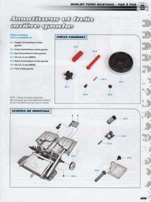 Shelby GT500 - 1967 - 1/8ème - Kit métal - Fascicules Altaya - Page 2 Shf_7910