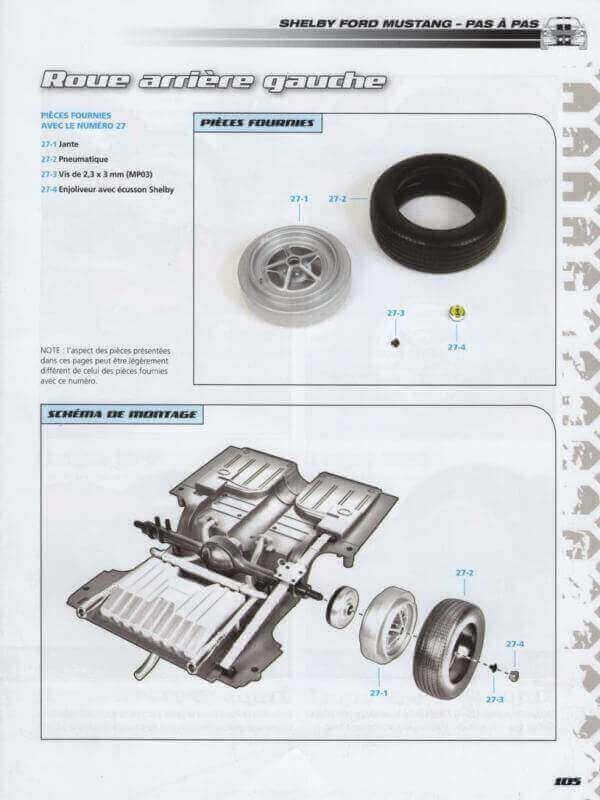 Shelby GT500 - 1967 - 1/8ème - Kit métal - Fascicules Altaya - Page 3 Shf_8410
