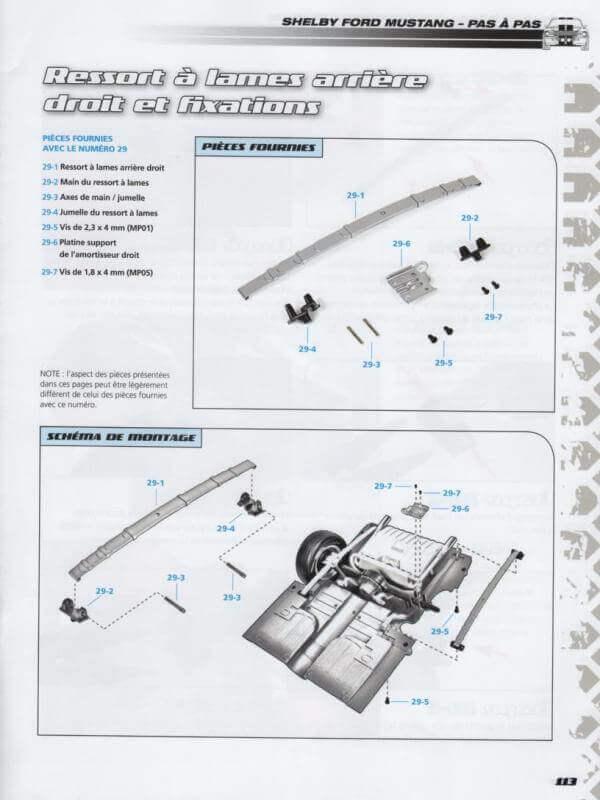 Shelby GT500 - 1967 - 1/8ème - Kit métal - Fascicules Altaya - Page 3 Shf_9410