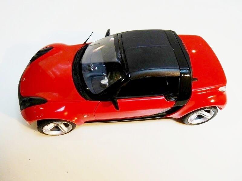 Smart Roadster - 2003 - Kyosho 1/18 ème Smart_10