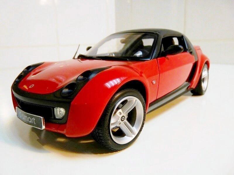 Smart Roadster - 2003 - Kyosho 1/18 ème Smart_11