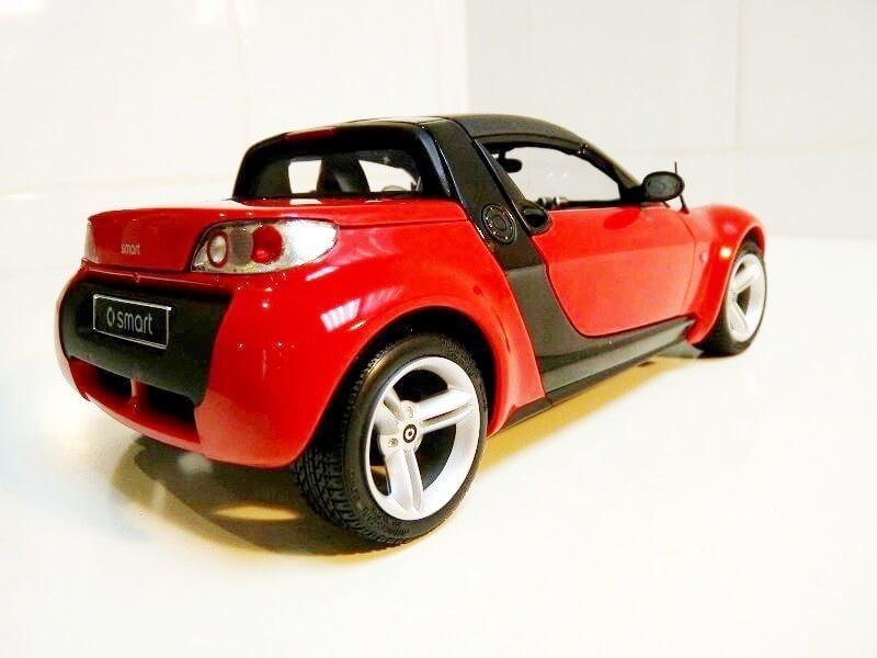 Smart Roadster - 2003 - Kyosho 1/18 ème Smart_21