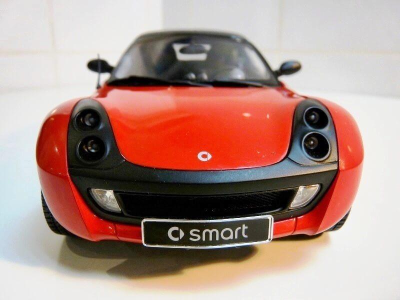 Smart Roadster - 2003 - Kyosho 1/18 ème Smart_22
