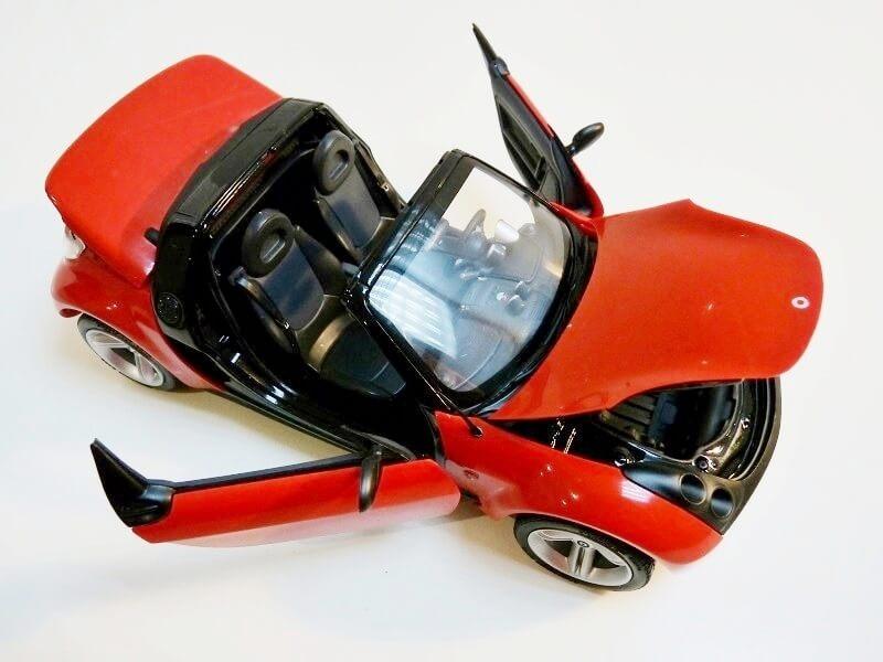 Smart Roadster - 2003 - Kyosho 1/18 ème Smart_25