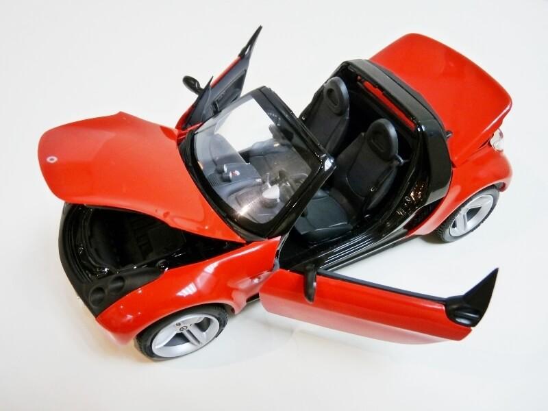 Smart Roadster - 2003 - Kyosho 1/18 ème Smart_29