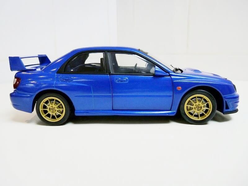 Subaru Impreza 2.0 litres GT turbo - 1993 - Solido 1/18 ème Subaru11