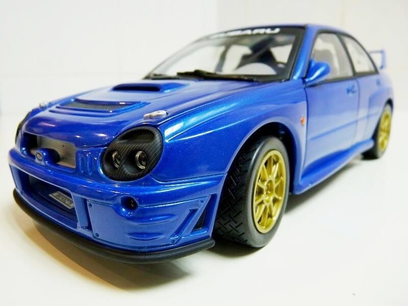 Subaru Impreza 2.0 litres GT turbo - 1993 - Solido 1/18 ème Subaru12