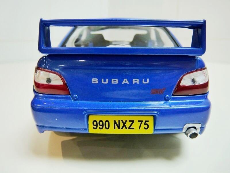 Subaru Impreza 2.0 litres GT turbo - 1993 - Solido 1/18 ème Subaru13