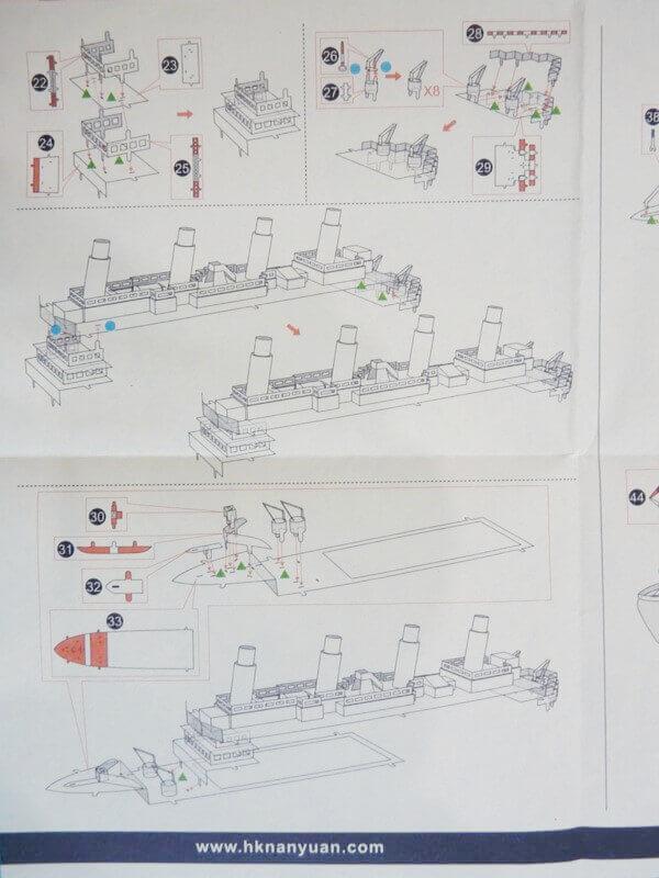 Titanic 3D métal kit au 1/2000 ème T000610