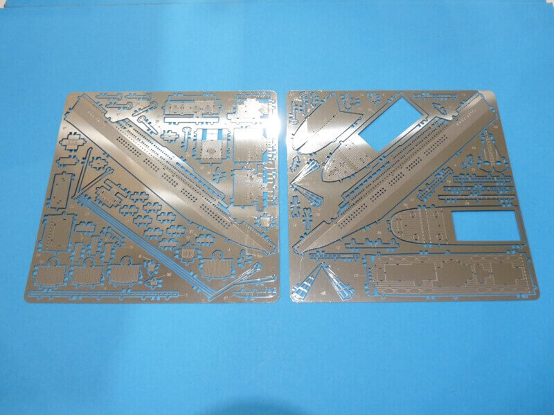 Titanic 3D métal kit au 1/2000 ème T000910