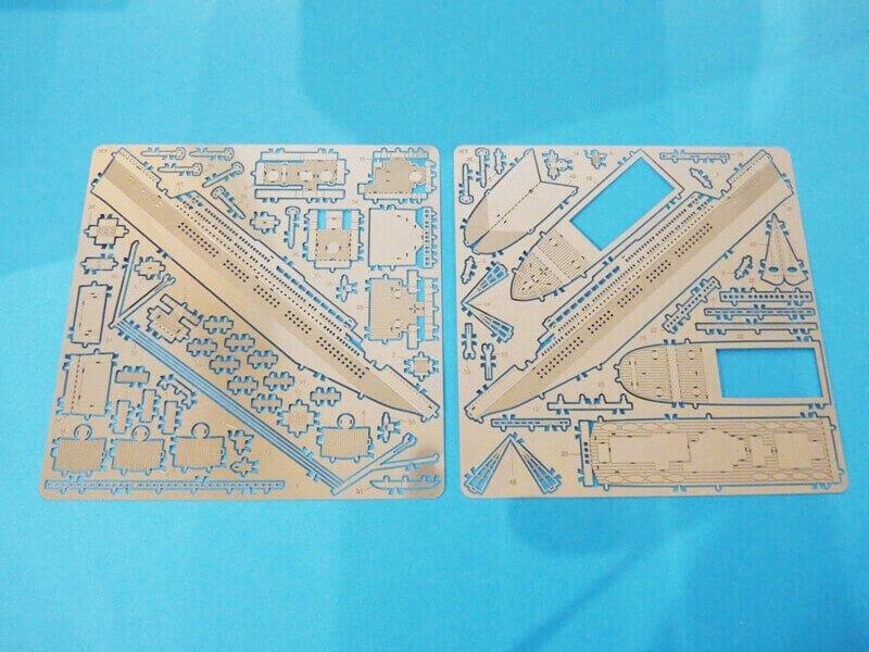 Titanic 3D métal kit au 1/2000 ème T001010