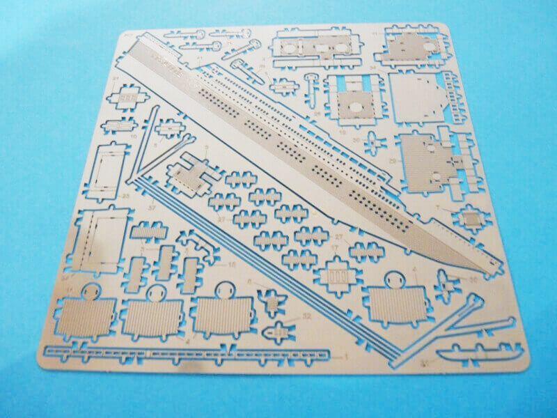 Titanic 3D métal kit au 1/2000 ème T001210