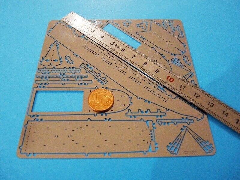 Titanic 3D métal kit au 1/2000 ème T001310