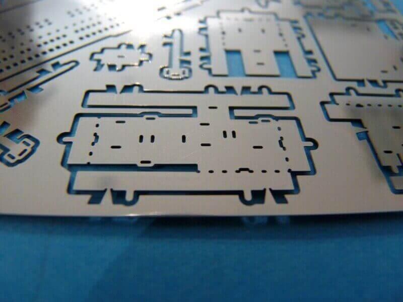 Titanic 3D métal kit au 1/2000 ème T002110