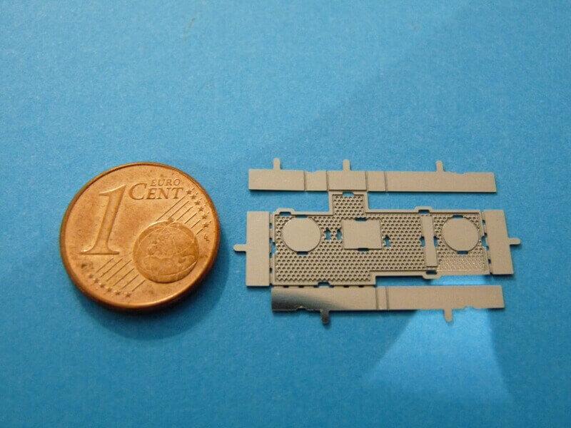 Titanic 3D métal kit au 1/2000 ème T002410