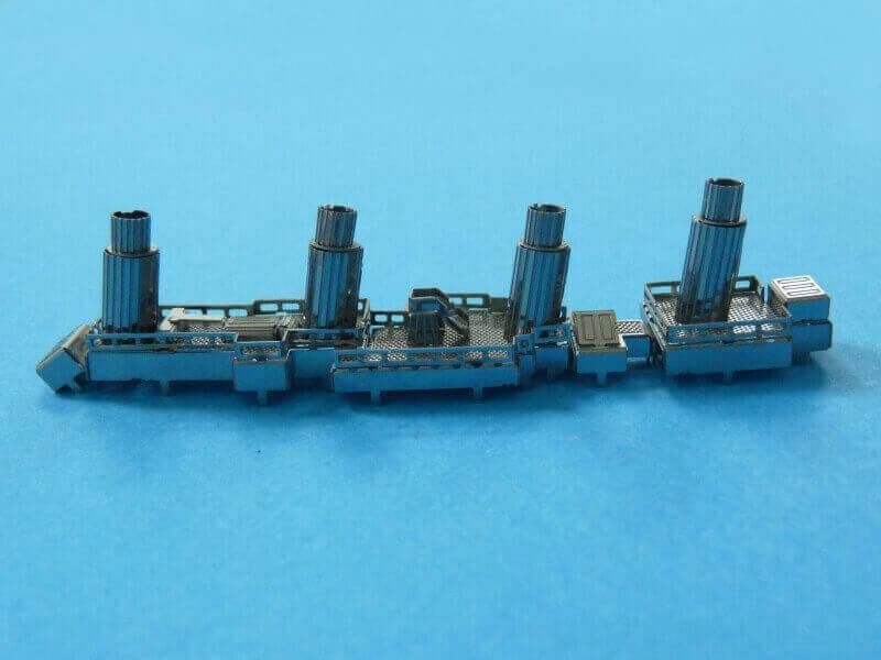 Titanic 3D métal kit au 1/2000 ème T009610
