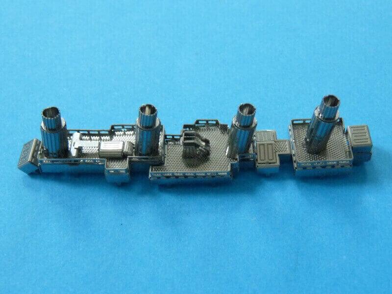Titanic 3D métal kit au 1/2000 ème T009710