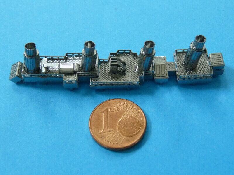 Titanic 3D métal kit au 1/2000 ème T009810