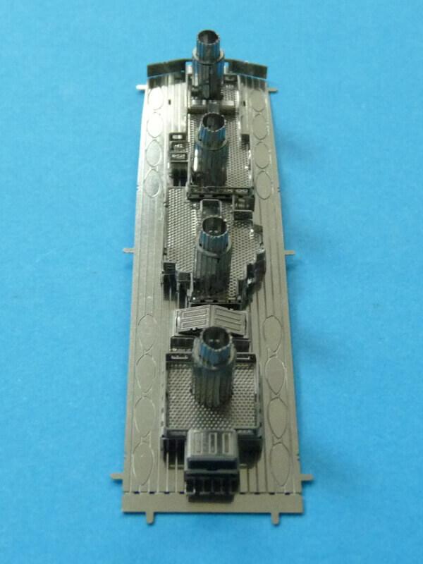 Titanic 3D métal kit au 1/2000 ème T010210