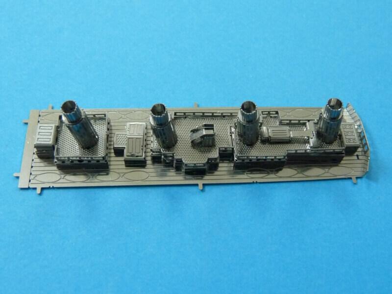 Titanic 3D métal kit au 1/2000 ème T010410