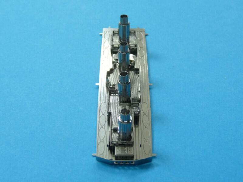 Titanic 3D métal kit au 1/2000 ème T010510