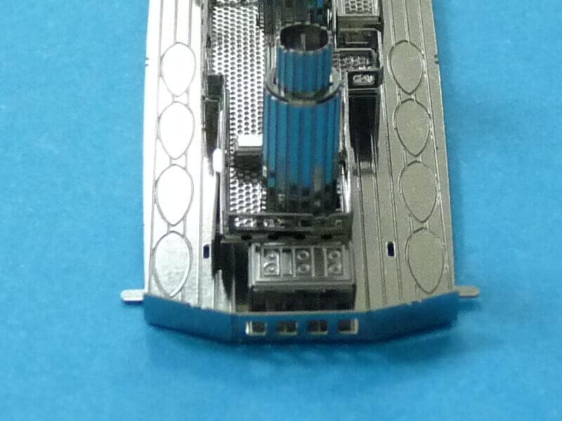 Titanic 3D métal kit au 1/2000 ème T010610