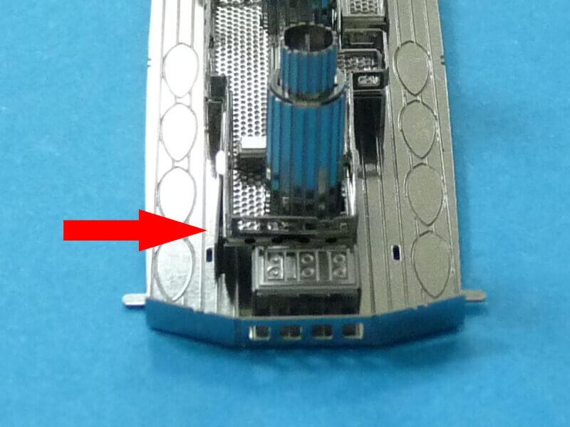 Titanic 3D métal kit au 1/2000 ème T010710