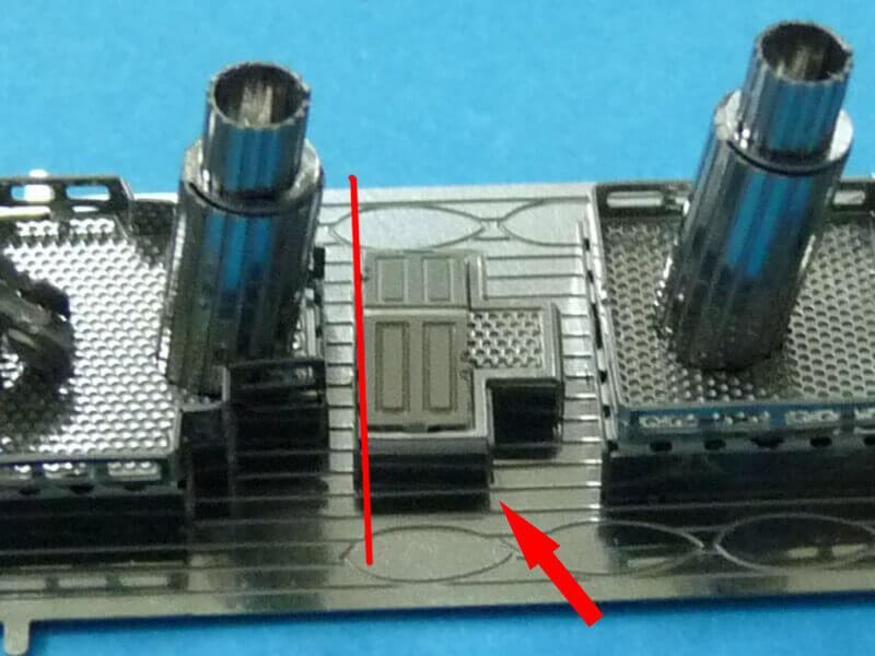 Titanic 3D métal kit au 1/2000 ème T010910