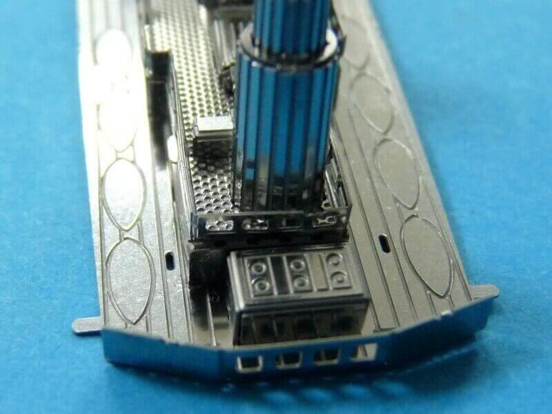 Titanic 3D métal kit au 1/2000 ème T011110
