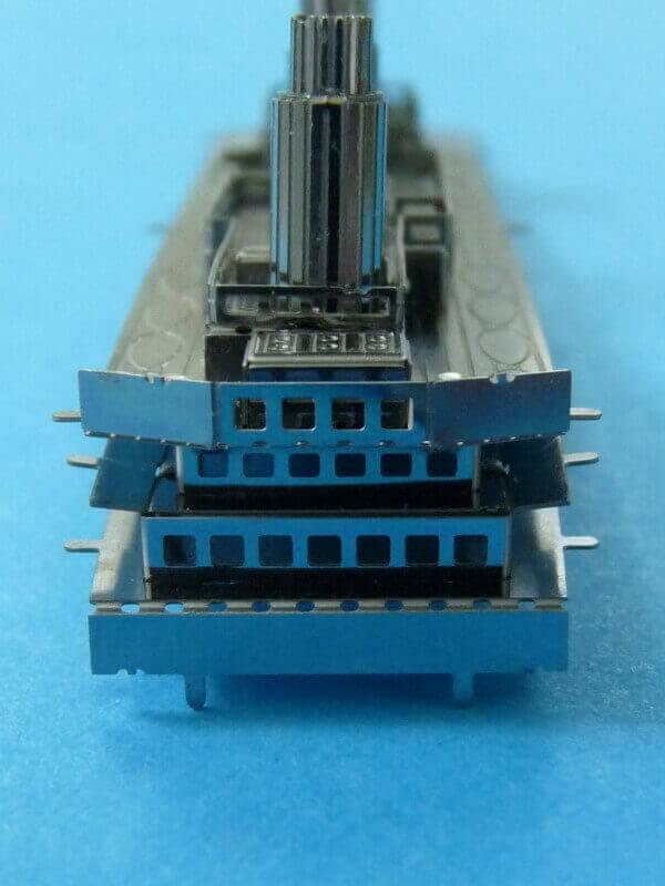 Titanic 3D métal kit au 1/2000 ème T011710
