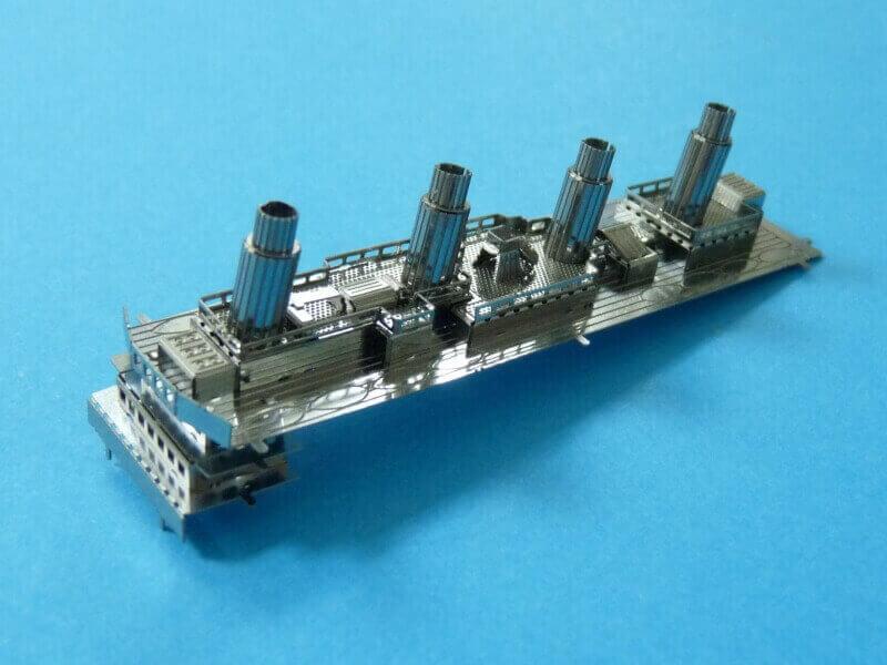 Titanic 3D métal kit au 1/2000 ème T011810