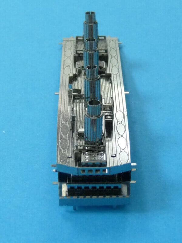 Titanic 3D métal kit au 1/2000 ème T011910