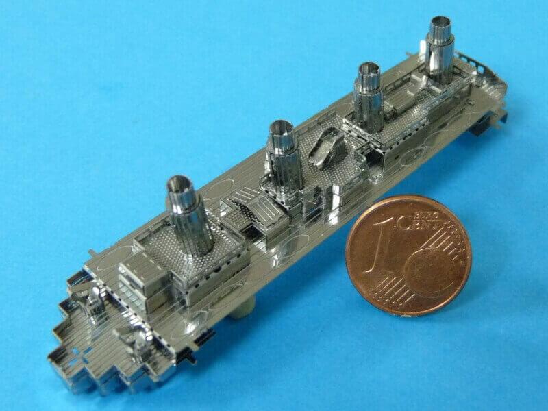 Titanic 3D métal kit au 1/2000 ème T014710