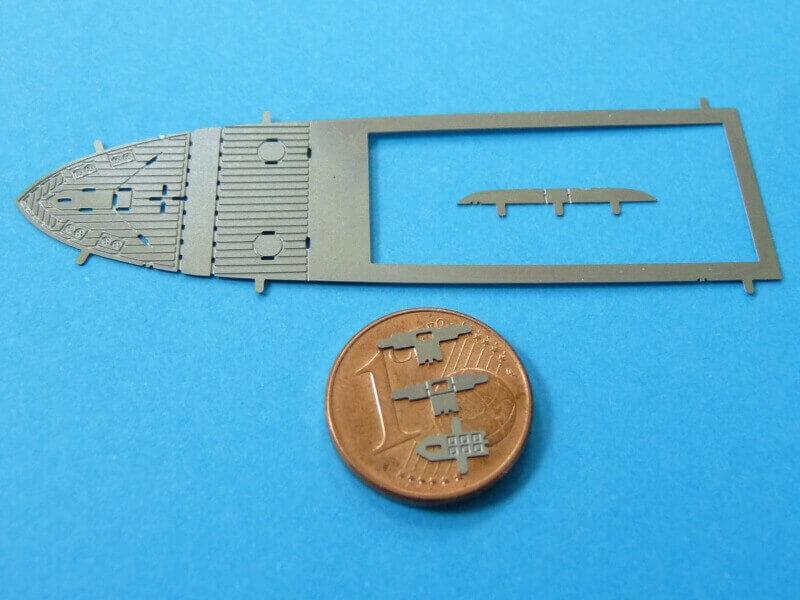 Titanic 3D métal kit au 1/2000 ème T014810