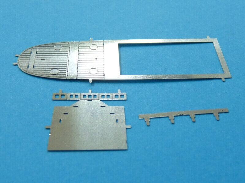 Titanic 3D métal kit au 1/2000 ème T014910