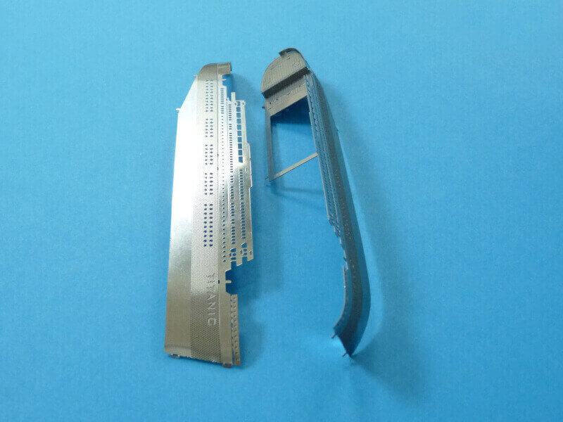 Titanic 3D métal kit au 1/2000 ème T015110