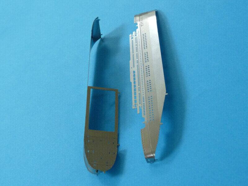 Titanic 3D métal kit au 1/2000 ème T015210