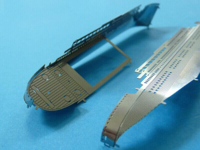 Titanic 3D métal kit au 1/2000 ème T015410
